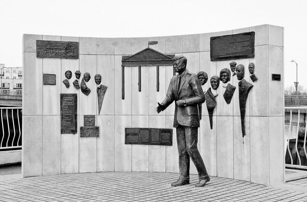 JFK Wall by Damien Carroll
